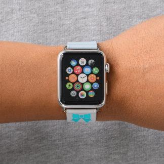 Modischer Türkis-Bogen Apple Watch Armband