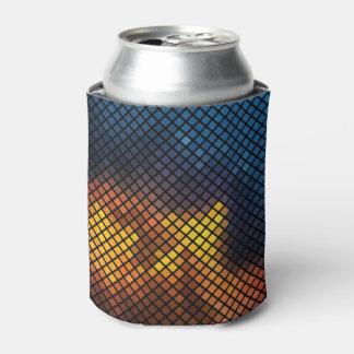 Modisches buntes Mosaik-Muster Dosenkühler