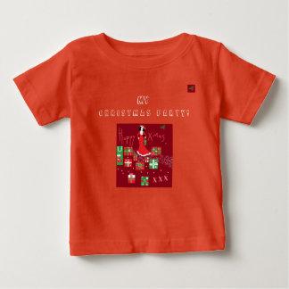 Modisches Designer-Weihnachten T/Shirt Baby T-shirt