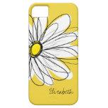 Modisches Gänseblümchen-Blumenillustration - iPhone 5 Hüllen