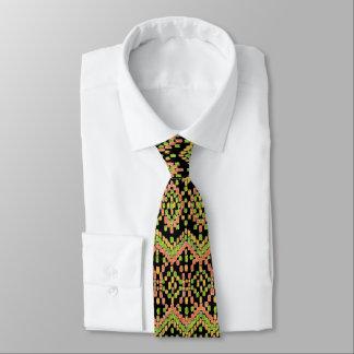 Modisches Ikat ethnisches Muster auf besonders Bedruckte Krawatten
