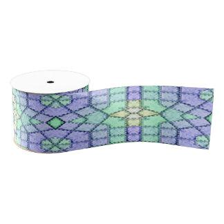 Modisches modernes stilvolles Muster Ripsband