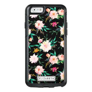 Modisches rosa weißes schwarzes OtterBox iPhone 6/6s hülle