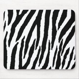 Modisches Schwarzweiss-Zebra-Muster Mousepad