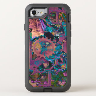 Modisches Steampunk OtterBox Defender iPhone 8/7 Hülle