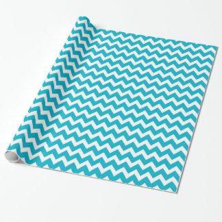 Modisches Zickzack-Muster-Packpapier Geschenkpapierrolle