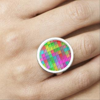 Modul art colorful foto ringe