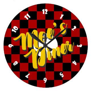 Moes Restaurant-Uhr Große Wanduhr