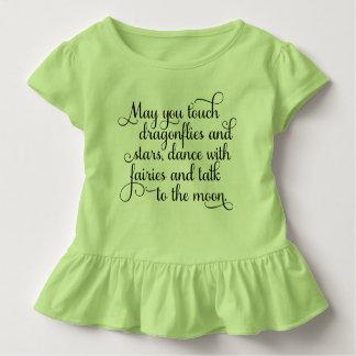 Mögen Sie mit Feen irischem Segen tanzen Kleinkind T-shirt