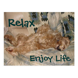 Möglichkeit entspannen sich postkarte