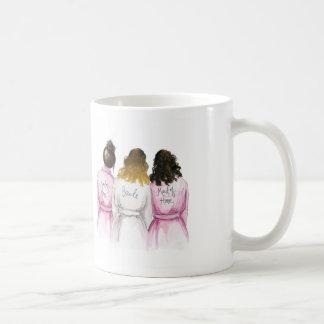 MOH? Ombre Braut mit zwei Begleitern Kaffeetasse