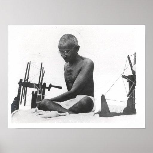 Mohandas Karamchand Gandhi Poster