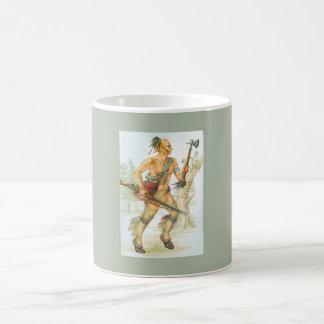 Mohikaner-Krieger Kaffeetasse
