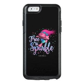 Mohnblume der Schleppangel-| geben frei, um zu OtterBox iPhone 6/6s Hülle