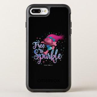 Mohnblume der Schleppangel-| geben frei, um zu OtterBox Symmetry iPhone 8 Plus/7 Plus Hülle