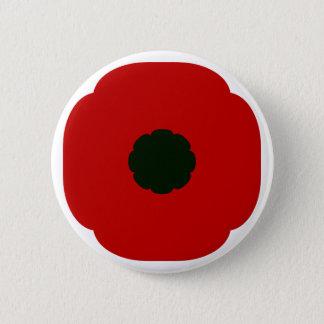 Mohnblume Runder Button 5,7 Cm