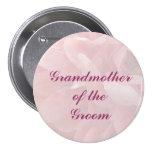 Mohnblumen-Blumenblatt-Großmutter des Bräutigam-Bu Anstecknadel