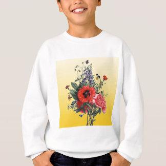 Mohnblumen-Blumenstrauß Sweatshirt