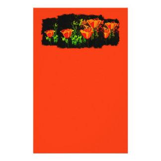 Mohnblumen Briefpapier