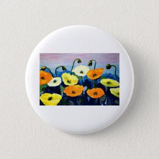 Mohnblumen-Büro-Zuhause personifizieren der Runder Button 5,7 Cm