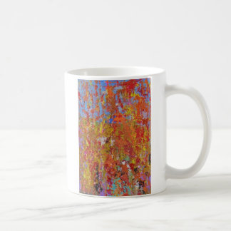 Mohnblumen-Feld Kaffeetasse
