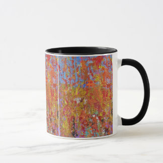 Mohnblumen-Felder Tasse