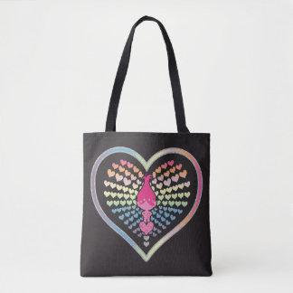 Mohnblumen-Herzen der Schleppangel-| Tasche