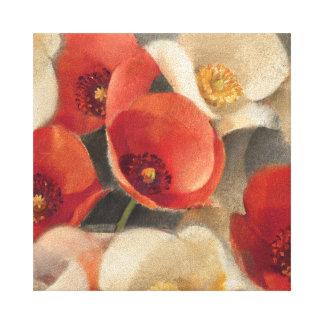 Mohnblumen in voller Blüte Leinwanddruck