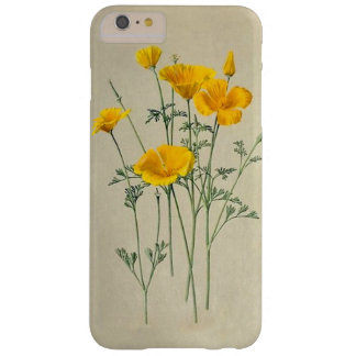 Mohnblumen-Kalifornien iPhone 6/6S plus kaum Ther Barely There iPhone 6 Plus Hülle