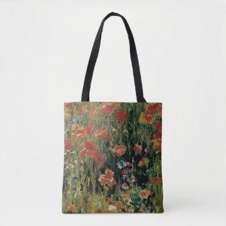 Mohnblumen Tasche
