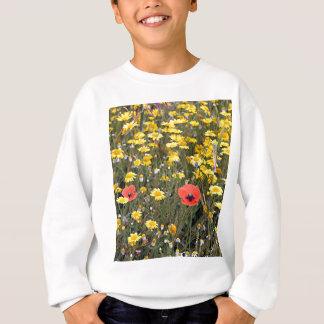 Mohnblumen und Gänseblümchen, EL Camino Sweatshirt