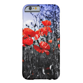 Mohnblumenblumenmohnblumen-Blume Barely There iPhone 6 Hülle