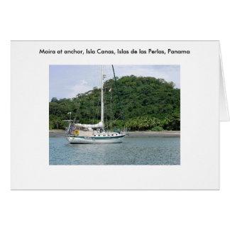 Moira bei Isla Canas, Islas las Perlas, Panama Karte