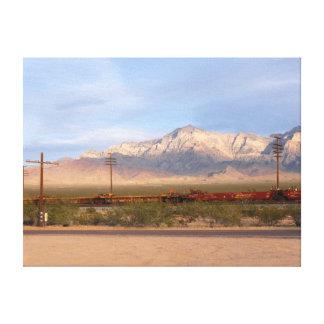 Mojave-nationale Konserve Kalifornien Leinwanddruck
