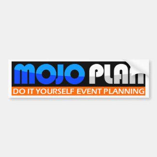 MOJOPLAN - Tun Sie es sich Ereignisplanung Autoaufkleber