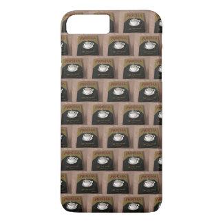 Mokka-Fliese iPhone Fall iPhone 8 Plus/7 Plus Hülle
