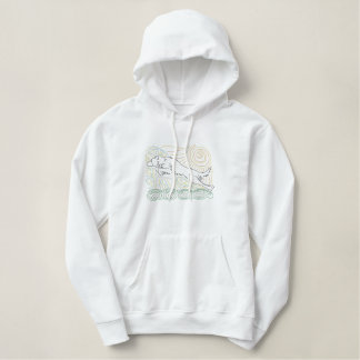 Mola-Grenzcollie-Agility Hoodie