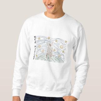 Mola-Rot Heeler Besticktes Sweatshirt