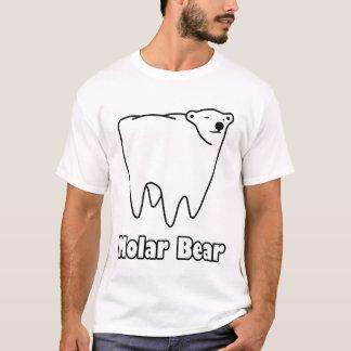 Molarer Bärn-polarer Zahn-Bär T-Shirt