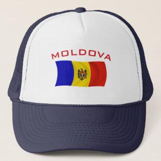 Moldau-Flagge 2 Truckerkappe