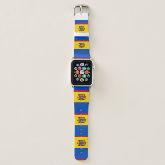 Moldau-Flagge Apple Watch Armband