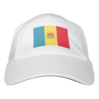 Moldau-Flagge Headsweats Kappe
