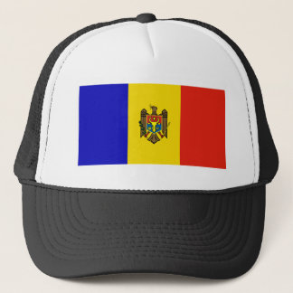 Moldau-Flagge Truckerkappe