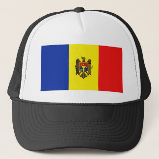 Moldau-Flaggen-Hut Truckerkappe