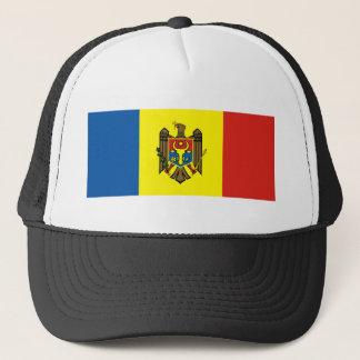 Moldau-Landesflaggenations-Symbolrepublik Truckerkappe