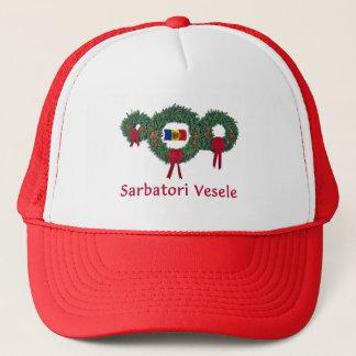 Moldau-Weihnachten 2 Truckerkappe