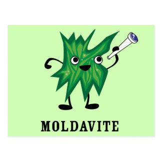 Moldavite Postkarte