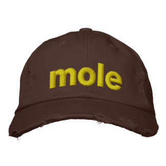 Mole Bestickte Kappe
