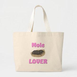 Mole-Liebhaber Jumbo Stoffbeutel