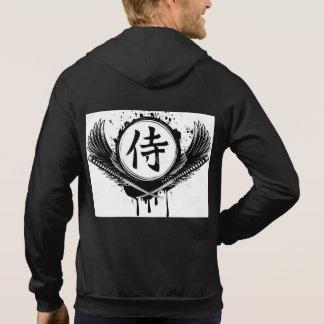 Moleton 100% Baumwolle - Ehre des Samurais Hoodie